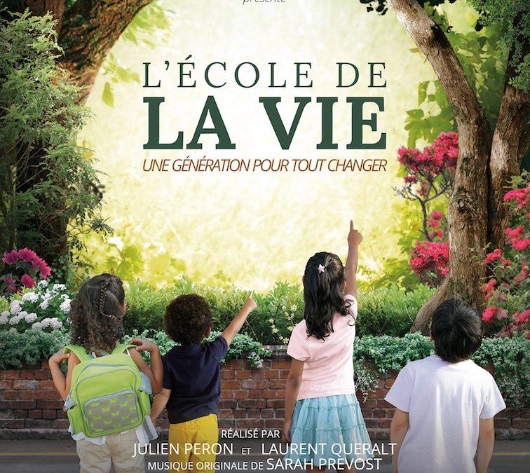 Soirée projection et échanges autour du film L'École de la Vie